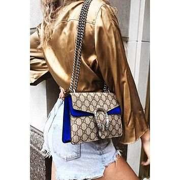 GUCCI Fashion Hot Selling Spicy Girls Alcoholics Shoulder Bag Shopping Bag