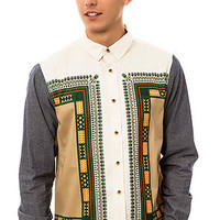 The Dashiki Buttondown Shirt in White