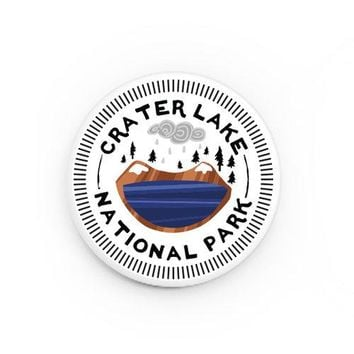 Crater Lake National Park Button