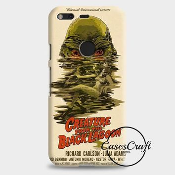 Creature From The Black Lagoon Poster Google Pixel 2 Case | casescraft