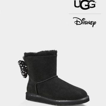 LMFH31 UGG Boots W SWEETIE BOW 1013391 Black Color US5-US10