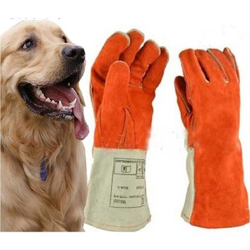 High quality Anti-bite gloves tactical animal training  for dog cat snake bite anti-scratch protective Training Feeding gloves
