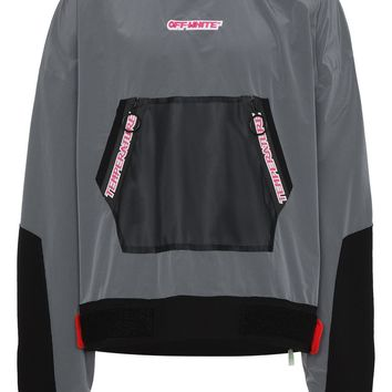 Athleisure Mesh Anorak Jacket by OFF-WHITE