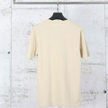 Kith X Champion Double Logo Short Sleeved T-Shirt Sand