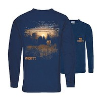 Southern Couture Priority Deer Stand Pocket Unisex Long Sleeve T-Shirt