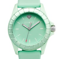 Juicy Couture Women's Juicy Sport Mint Green Ombre Silicone Strap Watch 40mm 1901118