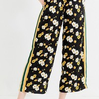 UO Side Striped Satin Track Pant   Urban Outfitters