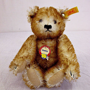 Vintage Steiff Petsy Beautiful Brown Bear