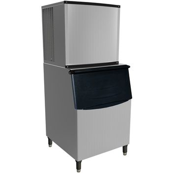 Commercial Modular Ice Maker 1000 lb. with Bin Storage