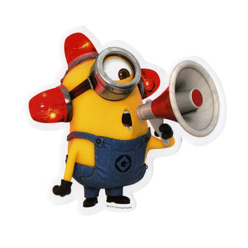 Despicable Me 2 Alarm Minion Sticker
