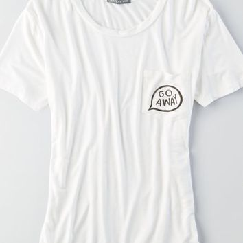 AEO Women's Don't Ask Why Graphic T-shirt