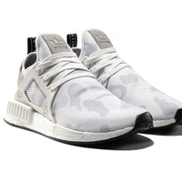 Adidas NMD_XR1 PK White Duck Camo White Grey Prime knit XR1 NMD BA7233 New DS