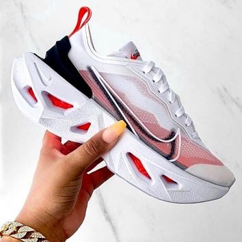 NIKE ZOOM X VISTA GRIND WOMEN MAN SPORTS DIAMOND SOLE Rhomboid White Pink