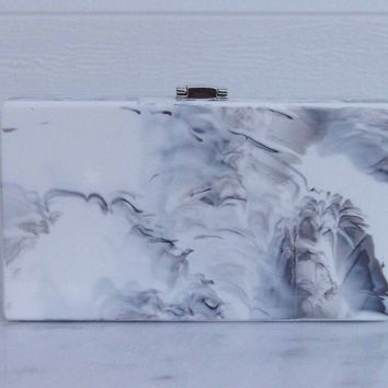 Marble Box Clutch by Milanblocks