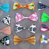 Custom Made Duct Tape Hair Bow- over 80 colors and patterns to choose from