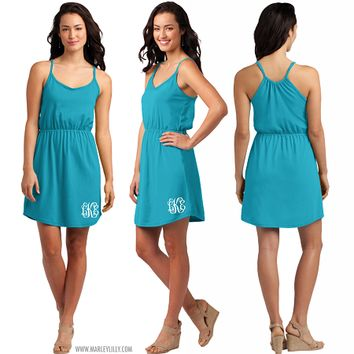 Monogrammed Juniors Strappy Dress | Clothing | Marley Lilly