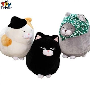 Plush Japan Amuse Fortune Cat Lucky Cats Toy Stuffed Doll Kids Birthday Gift Shop Home Decor Maneki Neko Keychain Pendant Triver