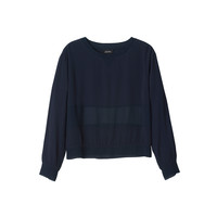 Elin chiffon sweat | Blouses | Monki.com