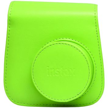 FUJIFILM 600018146 Instax(R) Mini 9 Groovy Case (Lime Green)