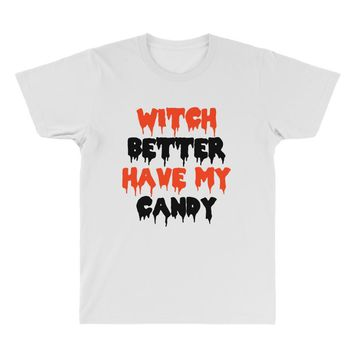 witch better have my candy All Over Men's T-shirt
