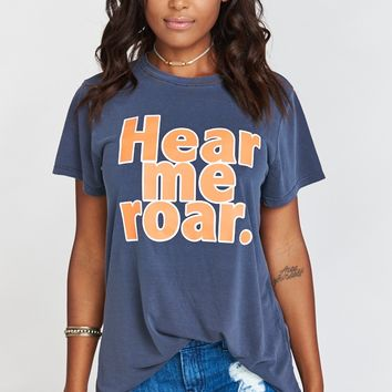 Oliver Tee ~ Hear Me Roar Graphic
