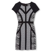 Shealth Dress Black/White