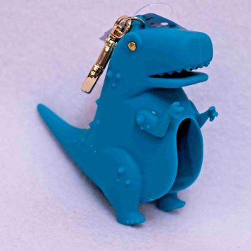 Bath & Body Works DINOSAUR Pocketbac Sanitizer Holder
