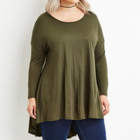 Plus Size Trapeze Top