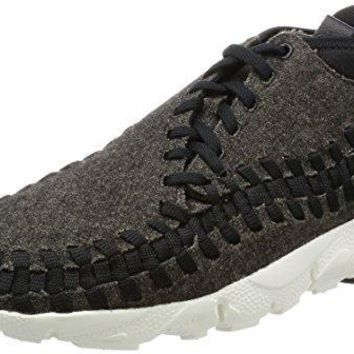 Nike Air Footscape Woven Chukka Special Edition Mens Sneaker Black 857874 001