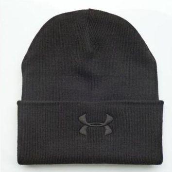 DCCK7HE Perfect Under Armour Women Men Embroidery Knit Hat Beanie Cap Hat