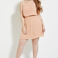 Plus Size Pleated Dress | Forever 21 PLUS - 2000183066