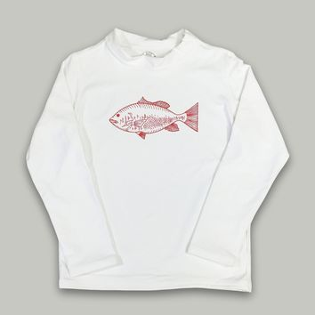 Snapper Long Sleeve Rash Guard UPF 50+