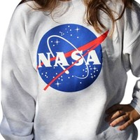 """NASA"" Crewneck Sweatshirt"