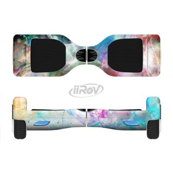 The Neon Multi Colored Paint in Water Full Body Skin Set for the Smart Drifting SuperCharged Transportation iiRov