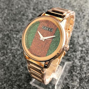 Gucci watches men's and women's fashion watches