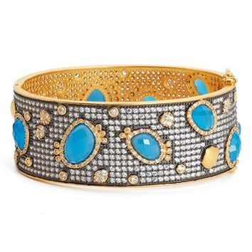 FREIDA ROTHMAN Baroque Blues Bangle | Nordstrom