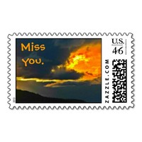 Miss you Postage