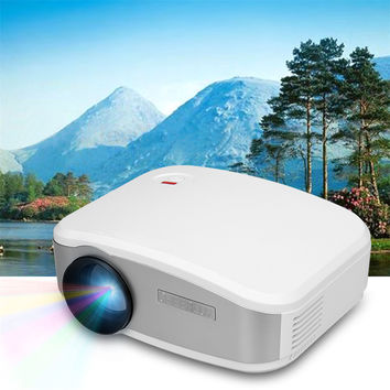 CHEERLUX C6 Mini LED&LCD Projector 800x480 Pixels 1200 Lumens Home Theater/Video Games Multi-inputs HDMI/USB/VGA/AV/TV Proyector