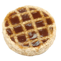 Redbarn Roofle Rawhide Waffle w/ Maple Syrup Dog Treat 1ct