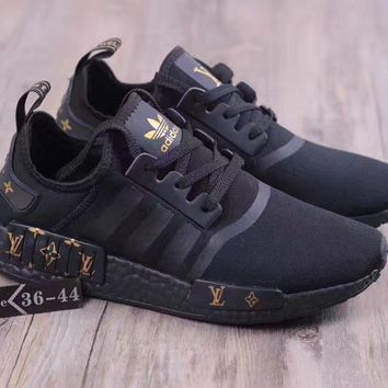 x1love : Adidas GUCCI LV NMD ashion casual shoes