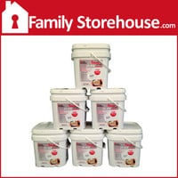 6 Month Emergency Food Supply - Breakfast, Lunch & Dinner