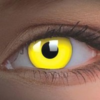 UV Yellow Contact Lenses, UV Yellow Contacts | EyesBright.com