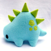 Light Blue and Green Stego Plush