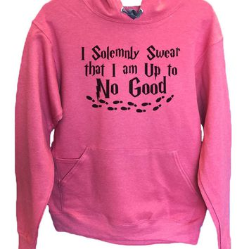 UNISEX HOODIE - I Solemnly Swear That I Am Up To No Good - FUNNY MENS AND WOMENS HOODED SWEATSHIRTS - 2267