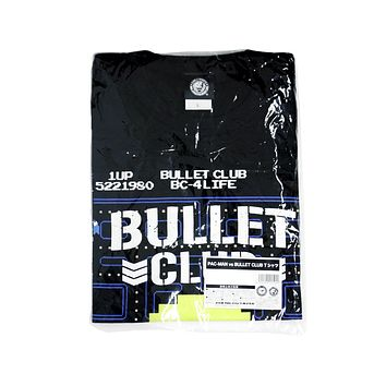 NJPW BULLET CLUB PACMAN T-SHIRT XL