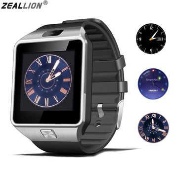 ZEALLION DZ09 Smart Watch for Android. Also supports sim card calling