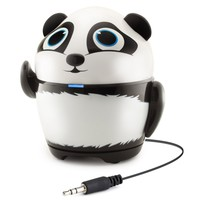 GOgroove Rechargeable Penguin Stereo Speaker with Portable Design & Built-in 3.5mm Cable- Works with Dragon Touch , Orbo Jr , Smartab STJR76PK & More