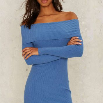 Nasty Gal For Her Pleasure Off-the-Shoulder Dress