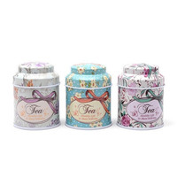 Round Empty Tinplate Tin Tea Can Storage Tin Box Organizer for Jewelry Candy Container Money Box