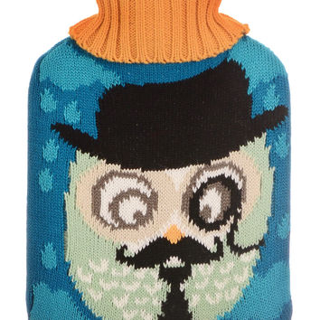 Cute & Cozy Wise Owl Hot Water Bottle